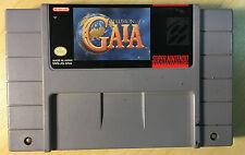 Illusion Of Gaia Snes Super Nintendo