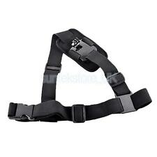Pro Single Shoulder Chest Strap Mount Harness Belt For GoPro Hero3+ 4 Camera