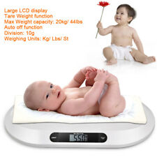 Electronic Baby Weighing Scale Lcd Display 3 Weighing Modes 44 Pound Capacity Us