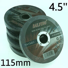 """50PC 115mm 4-1/2"""" CUTTING DISC WHEEL 4.5"""" Cordless Angle Grinder Stainless Steel"""