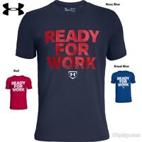 "Under Armour Heatgear ""Ready for work""  Adult Size Shirts, FREE SHIPPING! NEW!"