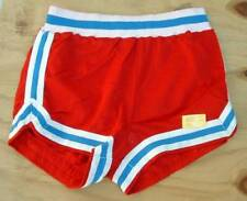 Vintage Sand Knit Basketball Shorts Belmont high mesh red large 36