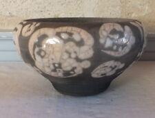 céramique raku par Dominique Pouet signé D O