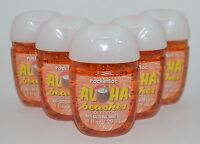 BATH BODY WORKS ALOHA BEACHES COOL COCONUT POCKETBAC ANTI BAC GEL HAND SANITIZER