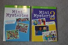 American Girl Doll Mini Mysteries Books #1 & #2 Paperback Books