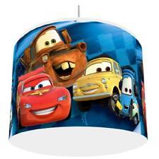 PIXAR CARS BLUE LIGHT SHADE KIDS ROOM matches duvet set  FREE P&P