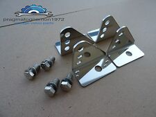 VOLVO AMAZON 121 122  FRONT SEAT MOUNTS STAINLESS STEEL!!