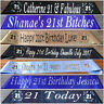 Personalised/Customised Party Sash 21st Birthday Any Wording Any Name 20 Colours