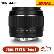YONGNUO YN50mm F1.8S DA DSM Auto Focus Lens for Sony E-mount APS-C APC-C AF/MF