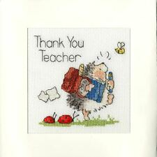 School's Out Greetings Card Cross Stitch Kit by Bothy Threads