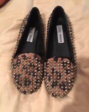 Steve Madden Studded Loafers Size 5M