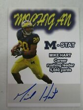 2008 TK LEGACY INC MICHIGAN MIKE HART AUTO AUTOGRAPH 1/75