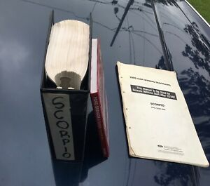Ford Merkur Scorpio 1985-1994 Dealer Service Manual and electrical schematics