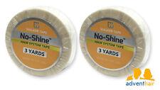 "No Shine Bonding Tape Roll 1/2"" x 3 yds WALKER lace wig hairpiece - 2 rolls"
