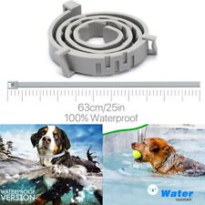 63cm Adjustable Pet Anti Flea Tick Neck Collar Dog Cat Kitten 8 Month Protection