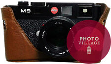 Black Label Bag Leica M8 M8.2 M9 M9-P M9-M Half-case in Dark Brown
