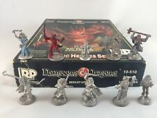 Ral Partha Dungeons & Dragons Basic Hero's Miniature Set 10-510 Complete 10 Figs