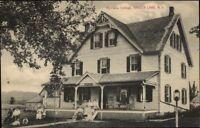 Kenoza Lake NY Montana Cottage c1910 Postcard