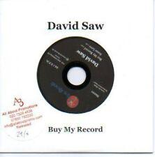 (42H) David Saw, Buy My Record - DJ CD