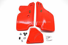 New Side Panels Covers Set Honda XR250 R XR350 R XR600 R ORG/RED (See Note) #q04