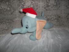 DISNEY DUMBO FLYING ELEPHANT CHRISTMAS HOLIDAY HAT PLUSH STUFFED ELEPHANT-Bin F
