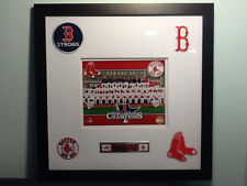 Boston Red Sox 2013 World Series Champions Framed Authentic Team Photo Picture