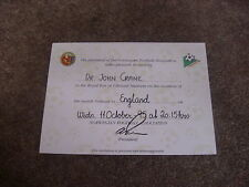 NORWAY v ENGLAND  VIP Royal Box 1995  Dr John CRANE  FOOTBALL Ticket   Ullevall