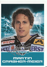 M. Grabher-Meier Black Wings Linz 2011-12 TOP AK Orig. Sign. Eishockey +A38229