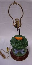 FITZ AND FLOYD FOR FREDERICK COOPER LAMP CLASSIC VEGETABLE BOUQUET OF BROCCOLI