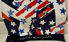 Tommy Hilfiger Beach Towel The Flags & Stars Peacoat 35'' X 66''