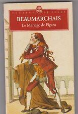 Le mariage de Figaro- Beaumarchais.Bon état. poche
