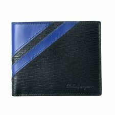 Salvatore Ferragamo 100% Leather Multi-Color Men's Bifold Wallet