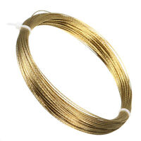 25m 0.5mm Car Windscreen Glass Cutting Cut Out Braided Removal Wire Gold Roll