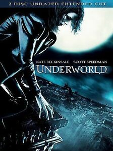 Underworld (DVD, 2004) 2-Disc Set, Unrated Extended Cut Edition FACTORY SEALED