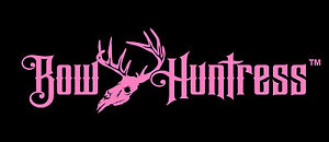 Bow Huntress Brand Hunting decal,compound bow sticker,womens,arrow,hunter,skull