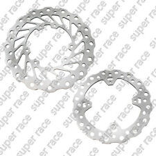 Front+Rear Brake Disc Rotors For Honda CRF 250/R CRE F 300 X CRF 450/R Stainless