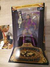 WWE Razor Ramon Defining Moments Mattel Elite Wrestling Figur Signed Bildbeweis