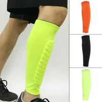 Football Sport Cycling Shin Guard Honeycomb Calf Sleeve Compression Leg Warmers