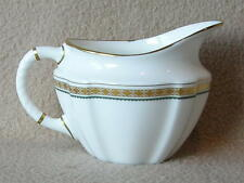 "ENGLISH ROYAL CROWN DERBY PORCELAIN CREAMER ""CARLTON GREEN"" PATTERN LIII"