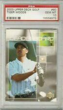 Tiger Woods 2003 Upper Deck UD Golf Leaderboard PSA 10 Gem Mint *POP 50*