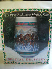 Budwieser holiday stein 1993 special delivery