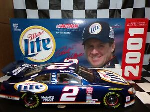 Rusty Wallace #2 Miller Lite 2001 Taurus 1:24 scale car Action NASCAR 101086