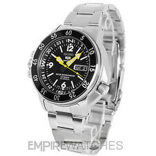 *NEW* SEIKO MENS AUTOMATIC COMPASS ATLAS DIVERS 200M WATCH SKZ211J1 - RRP £300