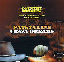 "PATSY CLINE ""Crazy Dreams"" COUNTRY HEROES 16 Titres & Dynamic 2007"