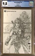 Wonder Woman #750 Jim Lee 1:100 Retailer Incentive Variant CGC 9.8