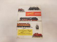 Esf-03275 Fleischmann catalogo 1960/61, con segni di usura