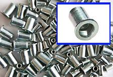Threaded Flanged Rivet Nut, Rivnut Inserts M4. M5. M6. M8. 100 Mixed Pk.