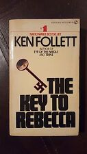 "Ken Follett, ""Key To Rebecca,"" 1981, Signet451-AE1012, VG, 1st."
