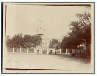 Sénégal, Saint Louis, Maison du Gouverneur  Vintage citrate print. Tirage ci