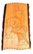 Plaque Murale en Bois, Sculpture,Tenture Murale Maison Décoration, Fait Main